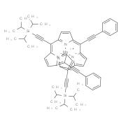 [5,15-双(苯乙炔基)-10,20-双[(三异丙基硅烷基)乙炔基]卟吩]]合镁(II)