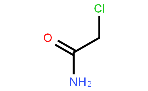 氯乙酰胺结构式