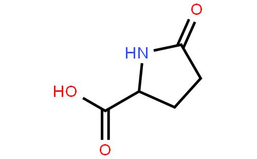 焦谷氨酸 结构式