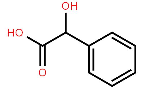 苦杏仁酸结构式