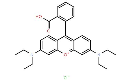 罗丹明B结构式