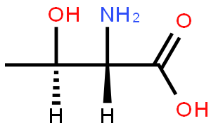 苏氨酸(CAS:72-19-5)结构式图片