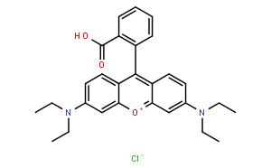 罗丹明B(CAS:81-88-9)结构式图片