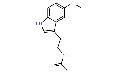 褪黑素(CAS:73-31-4) 结构式图片