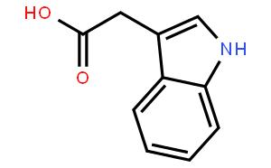 吲哚乙酸(CAS:87-51-4)结构式图片