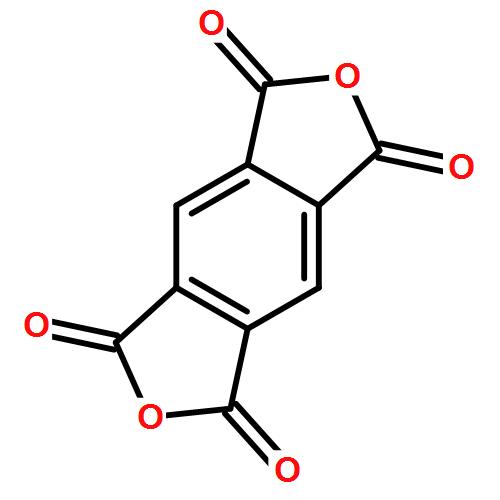 均苯四甲酸二酐(cas:89-21-7) 结构式图片