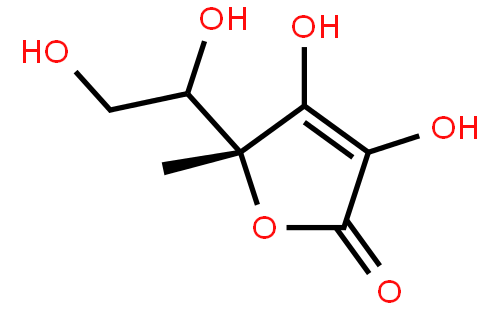 异抗坏血酸结构式