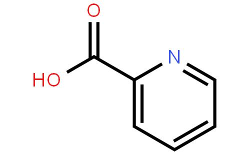2-吡啶甲酸结构式