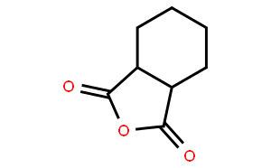 六氢苯酐(CAS:85-42-7)结构式图片