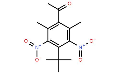 4-叔丁基-2,6-二甲基-3,5-二硝基苯乙酮