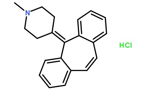 盐酸赛庚啶结构式