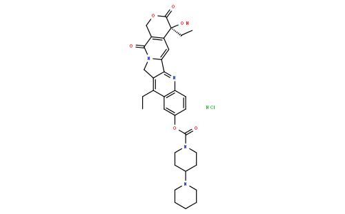 Irinotecan Hydrochloride | Vesino Industrial Co., Ltd.
