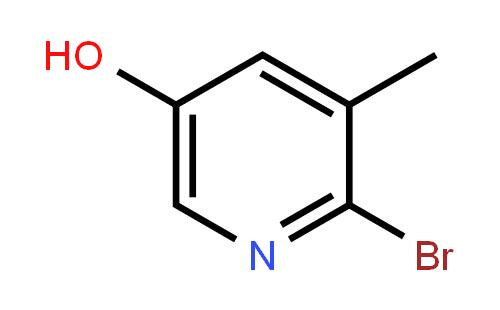 2-溴-5-羟基-3-甲基吡啶结构式