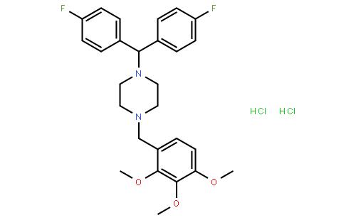 洛美利嗪二盐酸盐