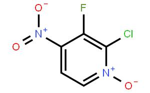 2-氯-3-氟-4-硝基吡啶氮氧化物