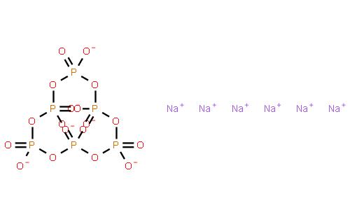 六偏磷酸钠结构式