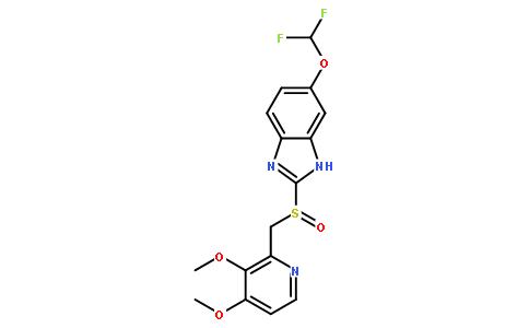 泮托拉唑结构式图片