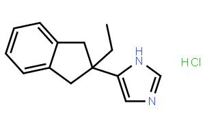 阿替美唑盐酸盐(CAS:104075-48-1)结构式图片