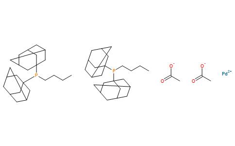 双[正丁基二(1-金刚烷基)膦]二乙酸钯