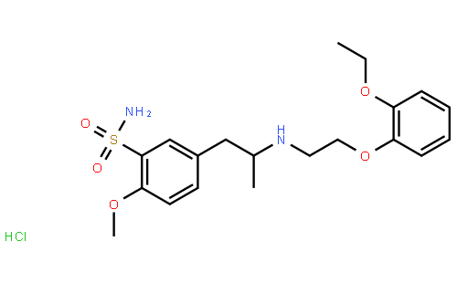 盐酸坦索罗辛 结构式