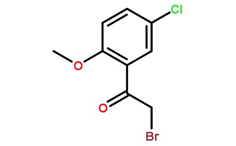 2-溴-1-(5-氯-2-甲氧苯基)乙酮