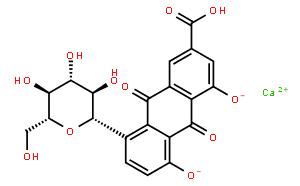 Rhein-8-O-β-D-glucopyranoside