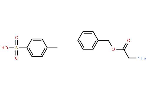 甘氨酸苄酯对甲苯磺酸盐结构式
