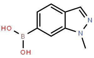 1-甲基吲唑-6-硼酸