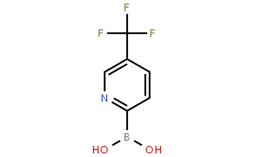 1162257-58-0 (5-(Trifluoromethyl)pyridin-2-yl)boronic acid