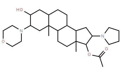 罗库溴铵中间体结构式