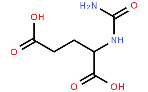 n-氨基甲酰-l-谷氨酸结构式