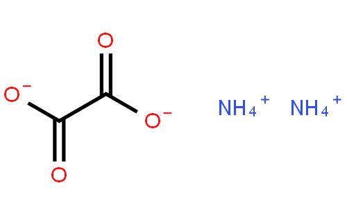 草酸铵结构式