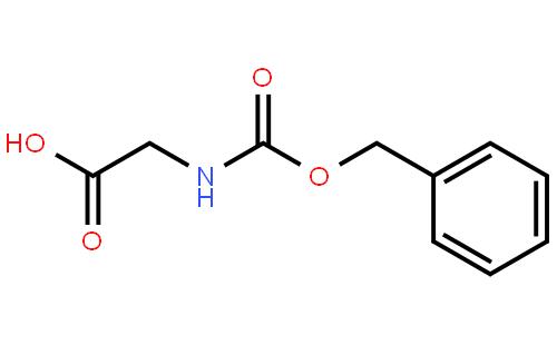 N-苄氧羰酰基甘氨酸结构式