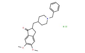 2,3-二氢-5,6-二甲氧基-2-{[(1-苯甲基)-4-哌啶基]甲基}-1H-茚-1-酮盐酸盐
