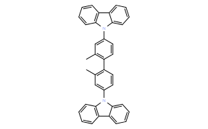 9,9'-(2,2'-dimethylbiphenyl-4,4'-diyl)bis(9H-carbazole)