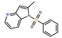 1-(Phenylsulfonyl)-2-methyl-4-azaindole