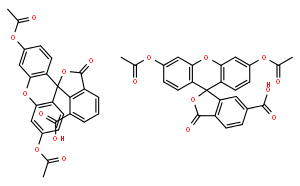 Spiro[isobenzofuran-1(3H),9'-[9H]xanthene]-ar-carboxylicacid, 3',6'-bis(acetyloxy)-3-oxo-
