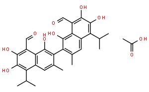 Acetate gossypol