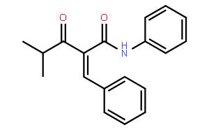 2-(苯甲撑)-3-氧代-4-甲基-N-苯基-戊酰胺