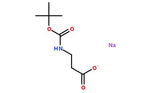 椰油基氨基丙酸钠结构式