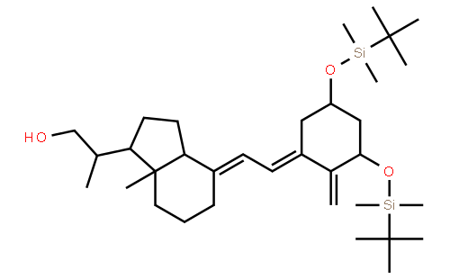 (S)-2-((1R,3aS,7aR,E)-4-((E)-2-((3S,5R)-3,5-bis(tert-butyldiMethylsilyloxy)-2-Methylenecyclohexylidene)ethylidene)-7a-Methyloctahydro-1H-inden-1-yl)propan-1-ol