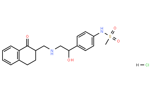 Benzonitrile, 4-[2-(4,4-dimethyl-2-oxo-3-oxazolidinyl)-4-thiazolyl]-Methanesulfonamide, N-[4-[1-hydroxy-2-[[(1,2,3,4-tetrahydro-1-oxo-2-naphthalenyl)methyl]amino]ethyl]phenyl]-, hydrochloride