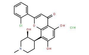 Flavopiridol hydrochloride