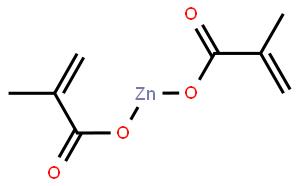 甲基丙烯酸锌(CAS:13189-00-9)结构式图片