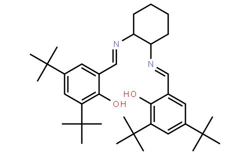 (R,R)-(−)-N,N′-双(3,5-二叔丁基亚水杨基)-1,2-环已二胺
