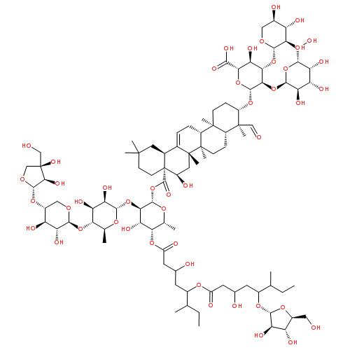 QS-21结构式