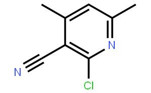 2-氯-3-氰基-4,6-二甲基吡啶