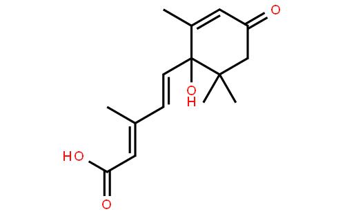 脱落酸结构式