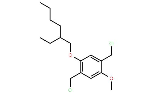 2,5-二(氯甲基)- 1-甲氧基-4- (2-乙基已氧基)-苯
