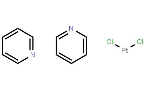 顺-二氯双(吡啶基)铂(II)